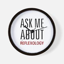 Ask Me Relexology Wall Clock