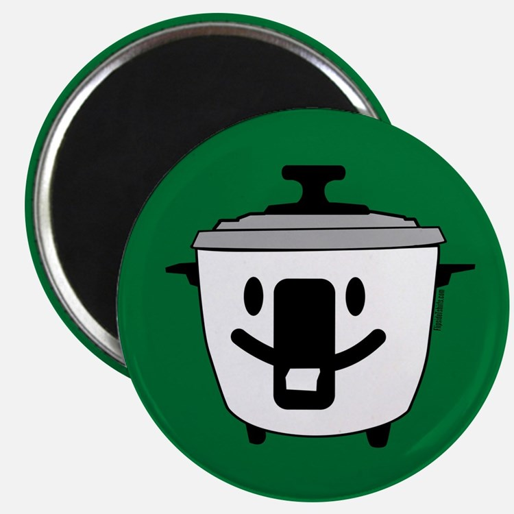 The Happy Rice Cooker Magnet