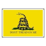 Dont tread me flags Banners