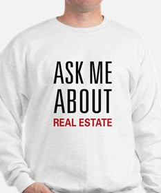 Ask Me Real Estate Sweater