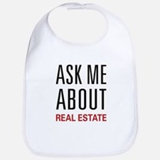 Ask Me Real Estate Bib