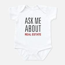 Ask Me Real Estate Infant Bodysuit