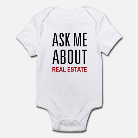 Ask Me Real Estate Infant Bodysuit
