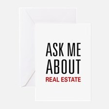 Ask Me Real Estate Greeting Cards (Pk of 10)