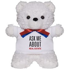 Ask Me Real Estate Teddy Bear