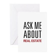 Ask Me About Real Estate Greeting Cards (Pk of 20)