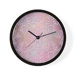 Vintage Pink Aurora Borealis Damask pattern Wall C