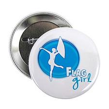 Flag Girl Button