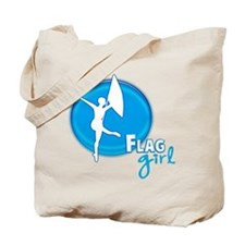 Flag Girl Tote Bag