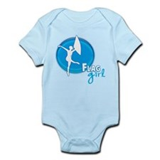 Flag Girl Infant Bodysuit