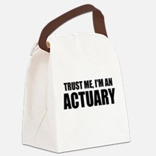 Trust Me, I'm An Actuary Canvas Lunch Bag