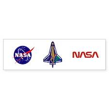 STS 107 Car Car Sticker