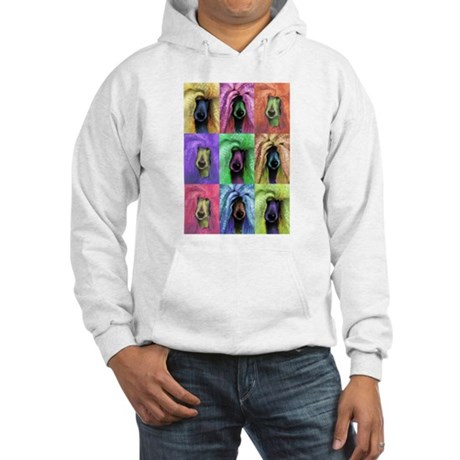 Pop Art Poodle Hooded Sweatshirt
