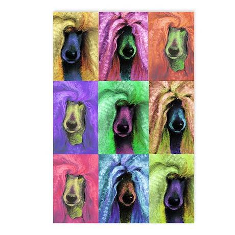 Pop Art Poodle Postcards (Package of 8)