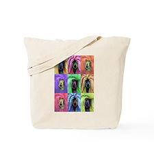 Pop Art Poodle Tote Bag