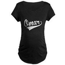 Omar, Retro, Maternity T-Shirt