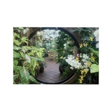 Secret Garden Rectangle Magnet