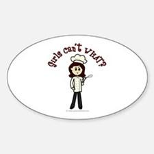 Light Chef Oval Decal