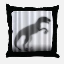 Raptor Silhouette Throw Pillow