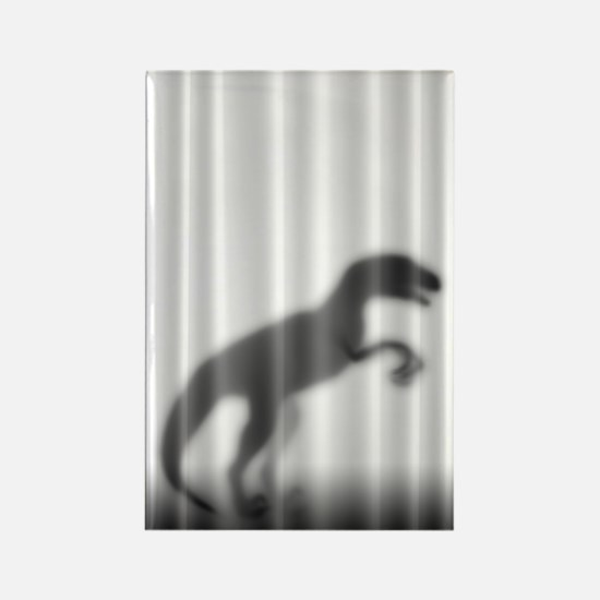 Raptor Silhouette Rectangle Magnet