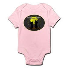 I LOVE YOU TO THE MOON AND BACK Infant Bodysuit