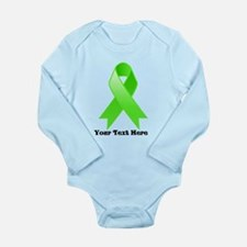 Personalize Lymphoma Ribbon Body Suit