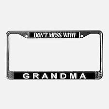 Unique License Plate Frame