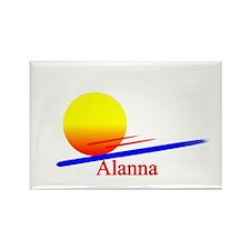 Alanna Rectangle Magnet