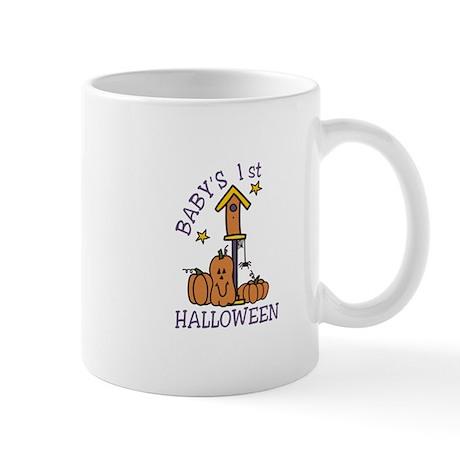 Babys 1st Halloween Mugs