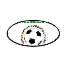 Brazil Soccer 2014 Patches