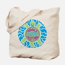 Turtle Middle Brother Tote Bag