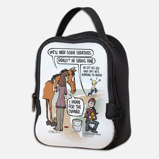 Panic Mode Neoprene Lunch Bag