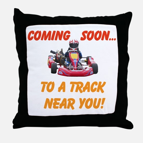 Coming Soon... Throw Pillow