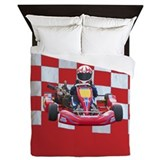 Go kart Luxe Full/Queen Duvet Cover
