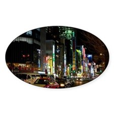 tokyo streets Decal