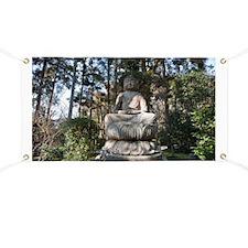 Ryoan-ji Buddha Statue Banner