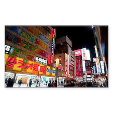 neon tokyo Decal