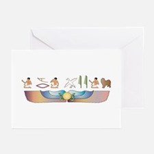 Lagotto Hieroglyphs Greeting Cards (Pk of 10)