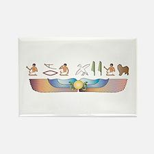 Lagotto Hieroglyphs Rectangle Magnet