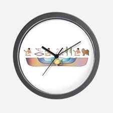 Lagotto Hieroglyphs Wall Clock
