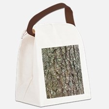 Tree Bark Canvas Lunch Bag