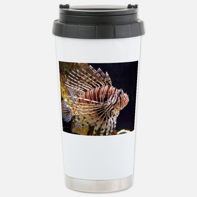 Lion Fish Travel Mug
