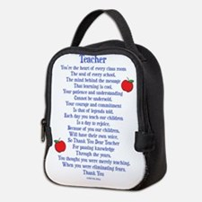 Teacher Thank You Neoprene Lunch Bag