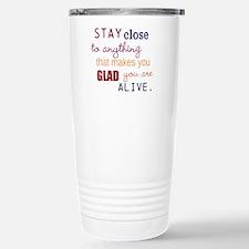 Be Alive Travel Mug