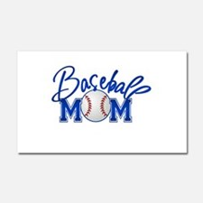 Baseball Mom Car Magnet 20 x 12