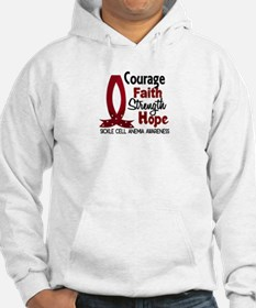 Sickle Cell Anemia CourageFaith1 Hoodie