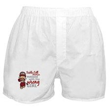 Sickle Cell Anemia CombatGirl1 Boxer Shorts