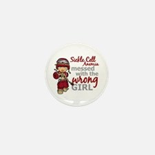 Sickle Cell Anemia CombatGir Mini Button (10 pack)