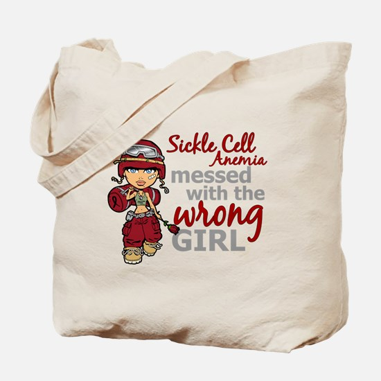 Sickle Cell Anemia CombatGirl1 Tote Bag