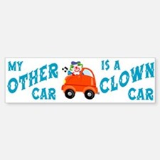 Clown Car Bumper Bumper Bumper Sticker